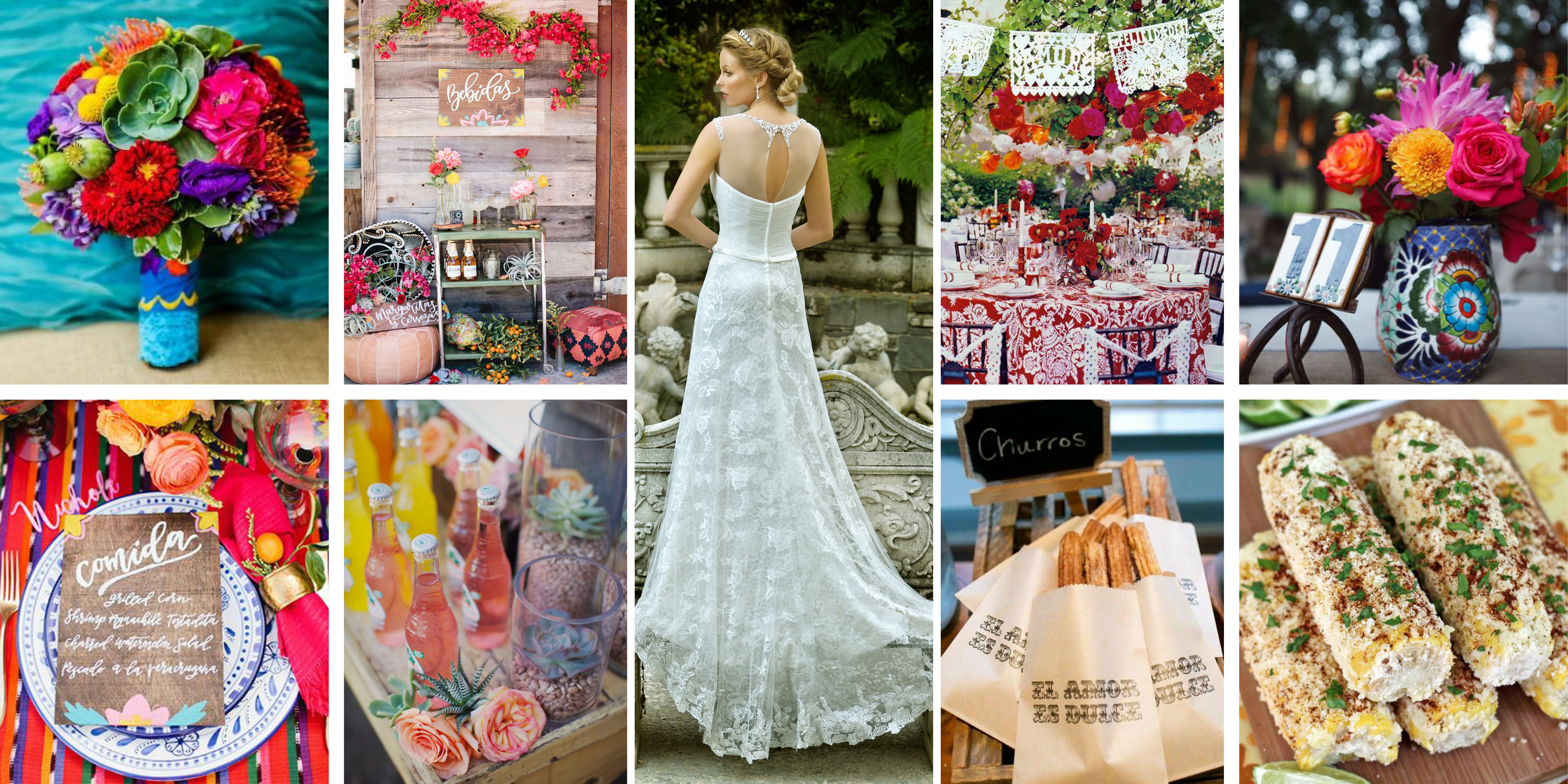 PINTEREST: SPANISH INSPIRED WEDDING – Aime Couture