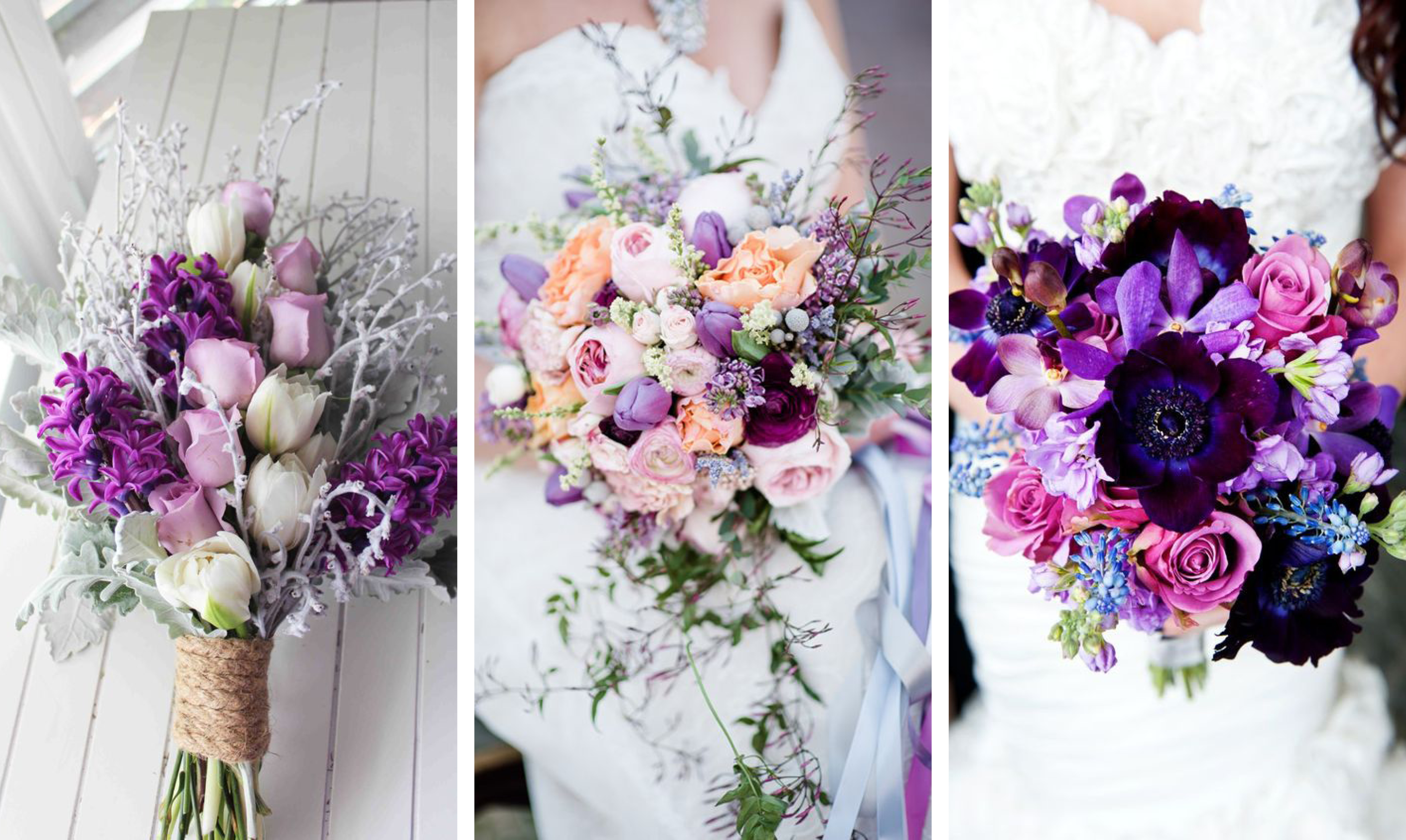 INSPIRATION: PURPLE RAIN WEDDING BOUQUET – Aime Couture