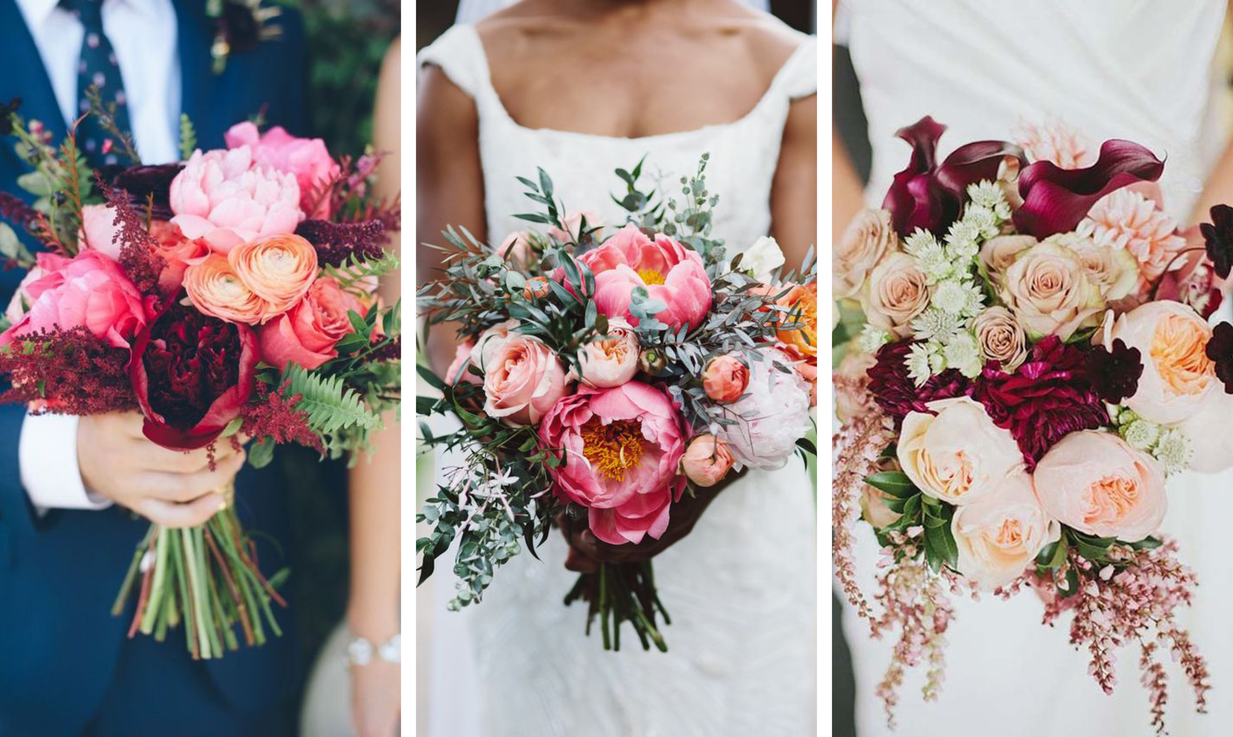 INSPIRATION: PRETTY IN PINK WEDDING BOUQUET – Aime Couture